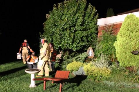 Firefighters Respond to Garage Fire in Coaldale, 8-20-2015 (236)