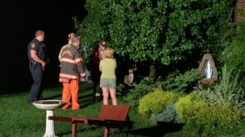 Firefighters Respond to Garage Fire in Coaldale, 8-20-2015 (5)