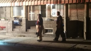 Fuel Oil Spill in Basement of Condemned Property, 417 Pine, Tamaqua (34)
