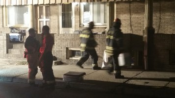 Fuel Oil Spill in Basement of Condemned Property, 417 Pine, Tamaqua (36)