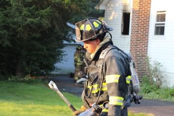 House Fire, 14 West Cherry Street, Tresckow, 8-17-2015 (100)