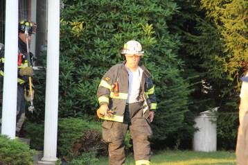 House Fire, 14 West Cherry Street, Tresckow, 8-17-2015 (143)