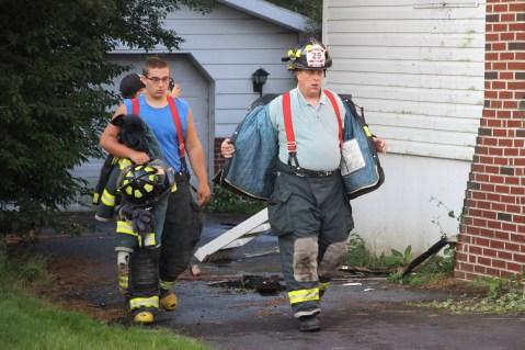 House Fire, 14 West Cherry Street, Tresckow, 8-17-2015 (153)