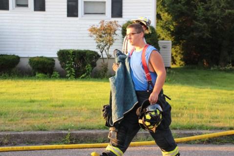 House Fire, 14 West Cherry Street, Tresckow, 8-17-2015 (156)