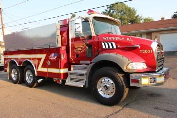 House Fire, 14 West Cherry Street, Tresckow, 8-17-2015 (166)