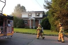 House Fire, 14 West Cherry Street, Tresckow, 8-17-2015 (17)
