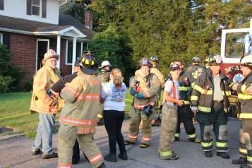 House Fire, 14 West Cherry Street, Tresckow, 8-17-2015 (44)