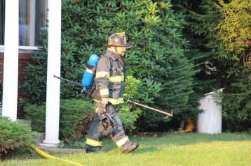 House Fire, 14 West Cherry Street, Tresckow, 8-17-2015 (88)