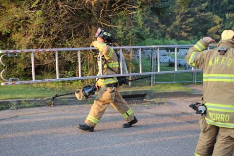 House Fire, 14 West Cherry Street, Tresckow, 8-17-2015 (9)