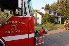 House Fire, 14 West Cherry Street, Tresckow, 8-17-2015 (96)