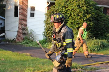 House Fire, 14 West Cherry Street, Tresckow, 8-17-2015 (99)