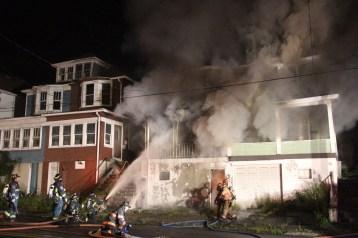 House Fire, 40-42 West Water Street, US209, Coaldale, 8-4-2015 (14)
