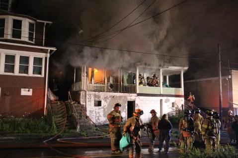 House Fire, 40-42 West Water Street, US209, Coaldale, 8-4-2015 (140)
