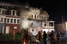 House Fire, 40-42 West Water Street, US209, Coaldale, 8-4-2015 (228)