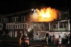 House Fire, 40-42 West Water Street, US209, Coaldale, 8-4-2015 (264)