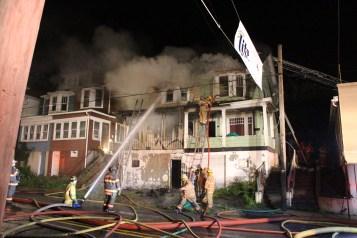 House Fire, 40-42 West Water Street, US209, Coaldale, 8-4-2015 (273)