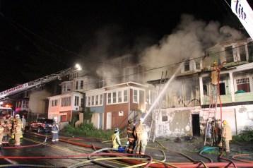 House Fire, 40-42 West Water Street, US209, Coaldale, 8-4-2015 (275)