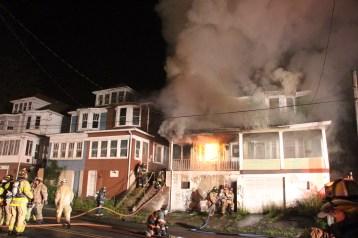 House Fire, 40-42 West Water Street, US209, Coaldale, 8-4-2015 (34)