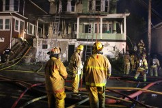 House Fire, 40-42 West Water Street, US209, Coaldale, 8-4-2015 (385)