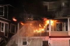 House Fire, 40-42 West Water Street, US209, Coaldale, 8-4-2015 (4)