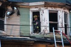 House Fire, 40-42 West Water Street, US209, Coaldale, 8-4-2015 (462)