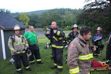 House Fire, 40-42 West Water Street, US209, Coaldale, 8-4-2015 (495)