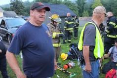 House Fire, 40-42 West Water Street, US209, Coaldale, 8-4-2015 (502)