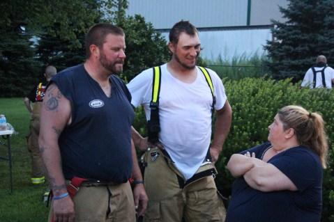 House Fire, 40-42 West Water Street, US209, Coaldale, 8-4-2015 (508)