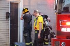 House Fire, 40-42 West Water Street, US209, Coaldale, 8-4-2015 (511)