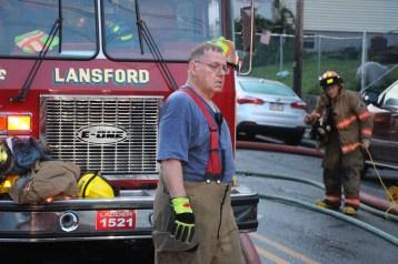 House Fire, 40-42 West Water Street, US209, Coaldale, 8-4-2015 (518)