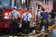 House Fire, 40-42 West Water Street, US209, Coaldale, 8-4-2015 (521)