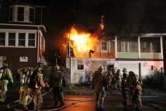 House Fire, 40-42 West Water Street, US209, Coaldale, 8-4-2015 (54)