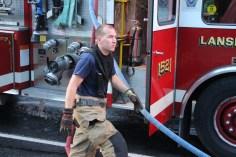 House Fire, 40-42 West Water Street, US209, Coaldale, 8-4-2015 (546)