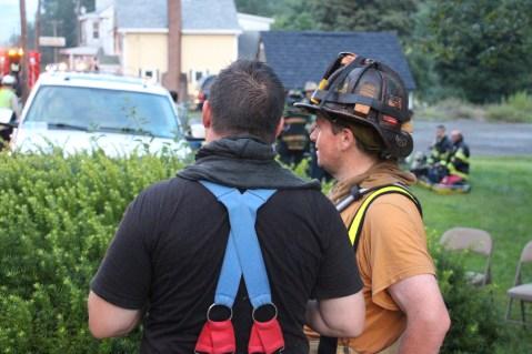 House Fire, 40-42 West Water Street, US209, Coaldale, 8-4-2015 (547)