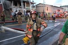 House Fire, 40-42 West Water Street, US209, Coaldale, 8-4-2015 (552)