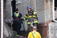 House Fire, 40-42 West Water Street, US209, Coaldale, 8-4-2015 (556)