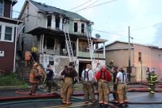 House Fire, 40-42 West Water Street, US209, Coaldale, 8-4-2015 (559)