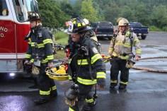 House Fire, 40-42 West Water Street, US209, Coaldale, 8-4-2015 (567)