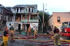 House Fire, 40-42 West Water Street, US209, Coaldale, 8-4-2015 (613)