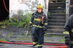 House Fire, 40-42 West Water Street, US209, Coaldale, 8-4-2015 (614)
