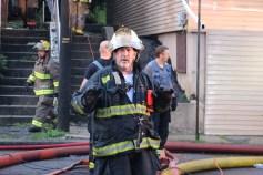 House Fire, 40-42 West Water Street, US209, Coaldale, 8-4-2015 (615)
