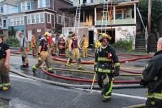 House Fire, 40-42 West Water Street, US209, Coaldale, 8-4-2015 (624)