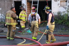 House Fire, 40-42 West Water Street, US209, Coaldale, 8-4-2015 (625)