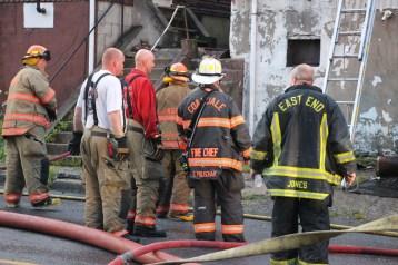 House Fire, 40-42 West Water Street, US209, Coaldale, 8-4-2015 (634)