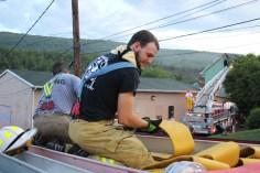 House Fire, 40-42 West Water Street, US209, Coaldale, 8-4-2015 (671)