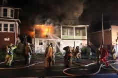 House Fire, 40-42 West Water Street, US209, Coaldale, 8-4-2015 (70)