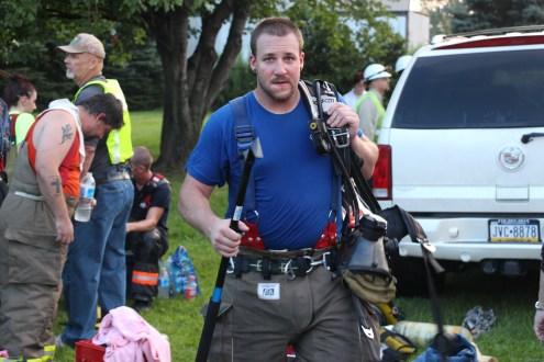 House Fire, 40-42 West Water Street, US209, Coaldale, 8-4-2015 (700)