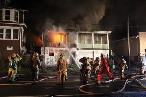 House Fire, 40-42 West Water Street, US209, Coaldale, 8-4-2015 (72)