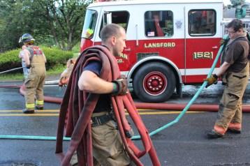 House Fire, 40-42 West Water Street, US209, Coaldale, 8-4-2015 (731)