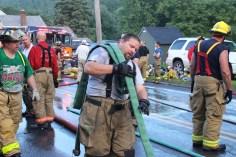 House Fire, 40-42 West Water Street, US209, Coaldale, 8-4-2015 (732)